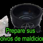 preparar polvos maldición caradeau