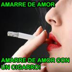 Como hacer un amarre de amor con un cigarro