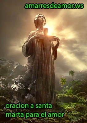oracion a santa marta dominadora