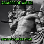 Oracion a San Sebastian para el amor