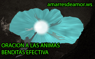 Oración animas benditas emergencia