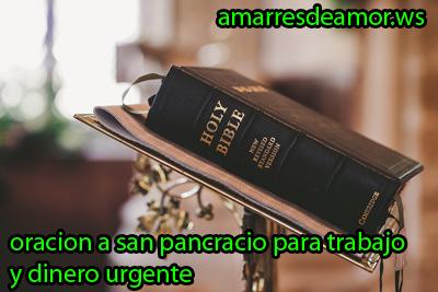 oracion a san pancracio para peticiones muy urgentes